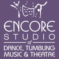 Encore Logo purple background